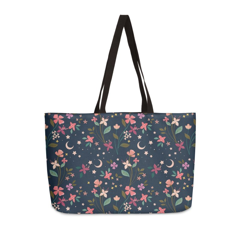 Night Blossoms Accessories Weekender Bag Bag by carlywatts's Shop
