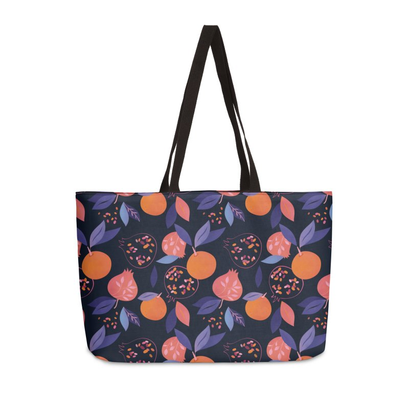Fruit Gathering Accessories Weekender Bag Bag by carlywatts's Shop