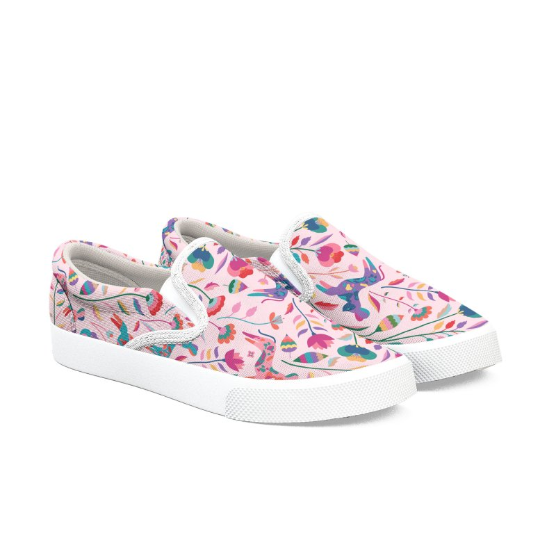 Painted Dogs Women's Slip-On Shoes by carlywatts's Shop