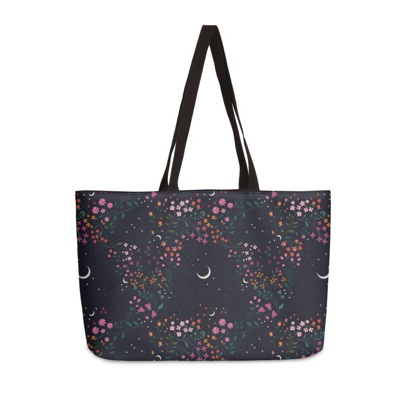 Midnight Garden Accessories Weekender Bag Bag by carlywatts's Shop