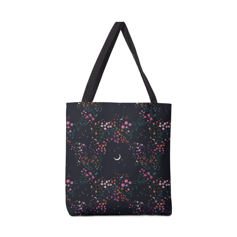 Midnight Garden Accessories Tote Bag Bag by carlywatts's Shop