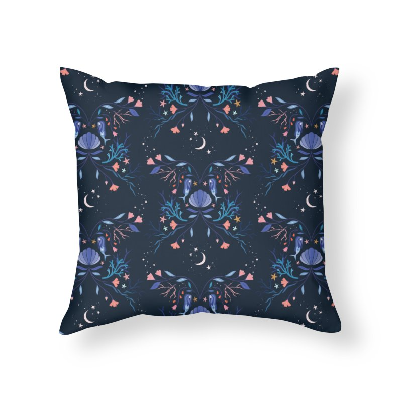 Sirens Home Throw Pillow by carlywatts's Shop