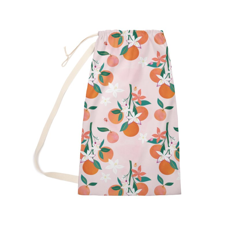 Orange Blossoms in Laundry Bag by carlywatts's Shop