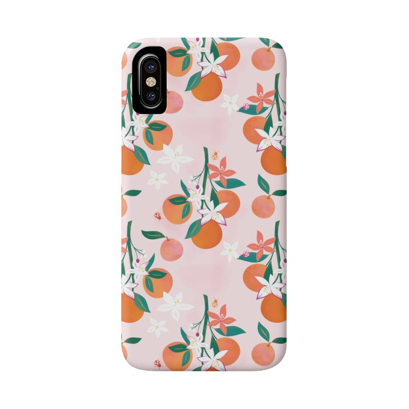 Orange Blossoms Accessories Phone Case by carlywatts's Shop