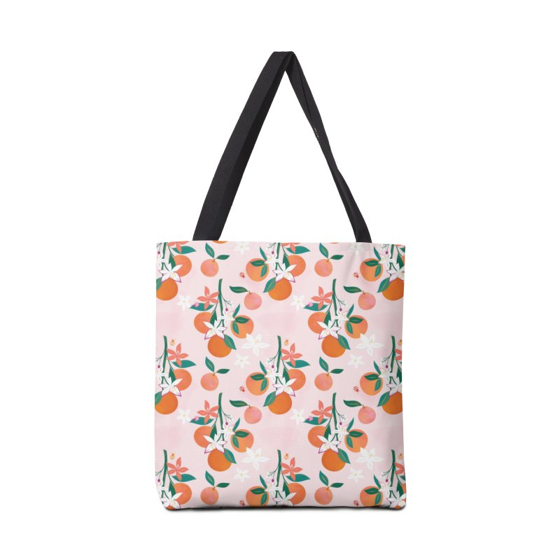 Orange Blossoms Accessories Tote Bag Bag by carlywatts's Shop