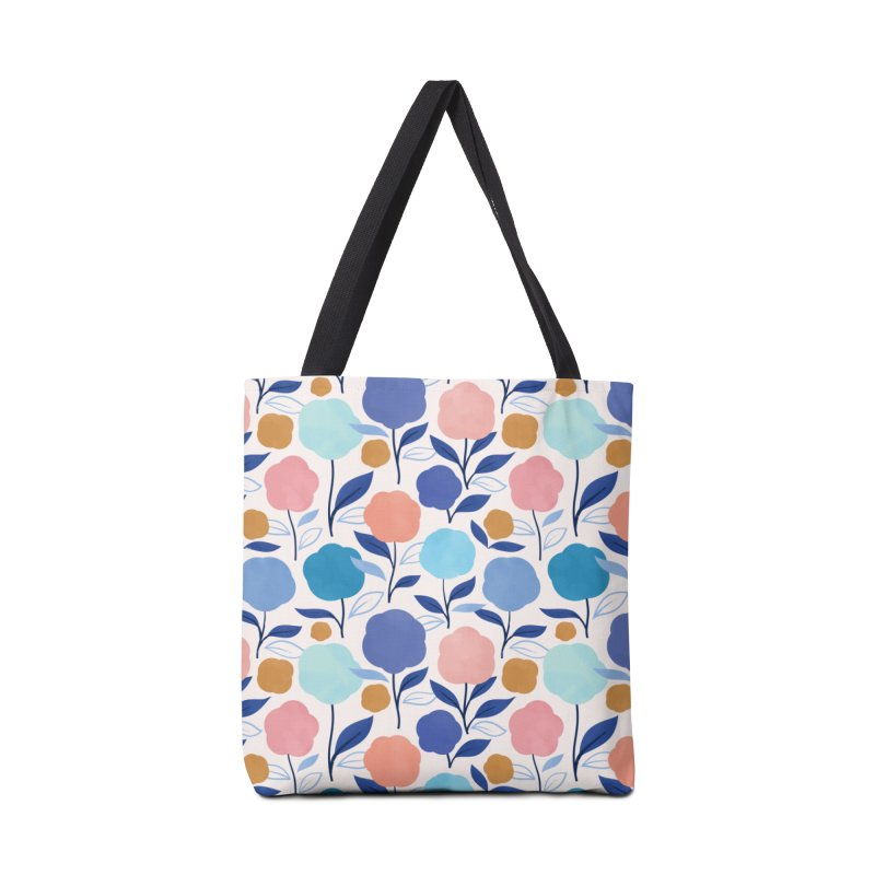 Lollipop Flowers Accessories Tote Bag Bag by carlywatts's Shop