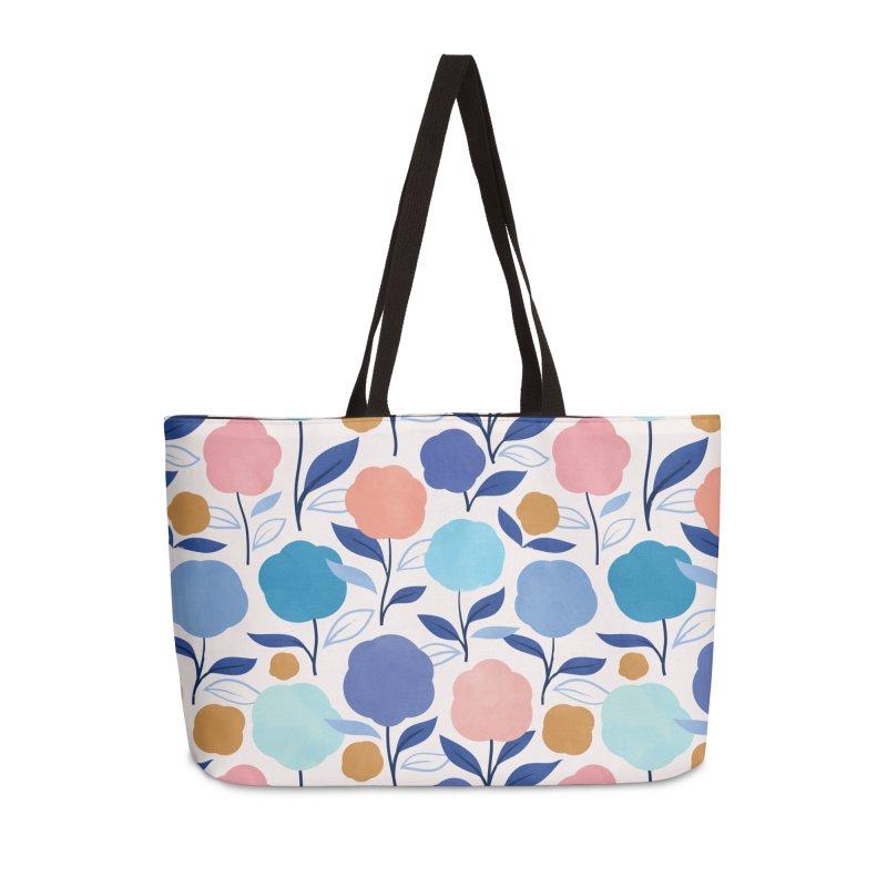 Lollipop Flowers Accessories Weekender Bag Bag by carlywatts's Shop