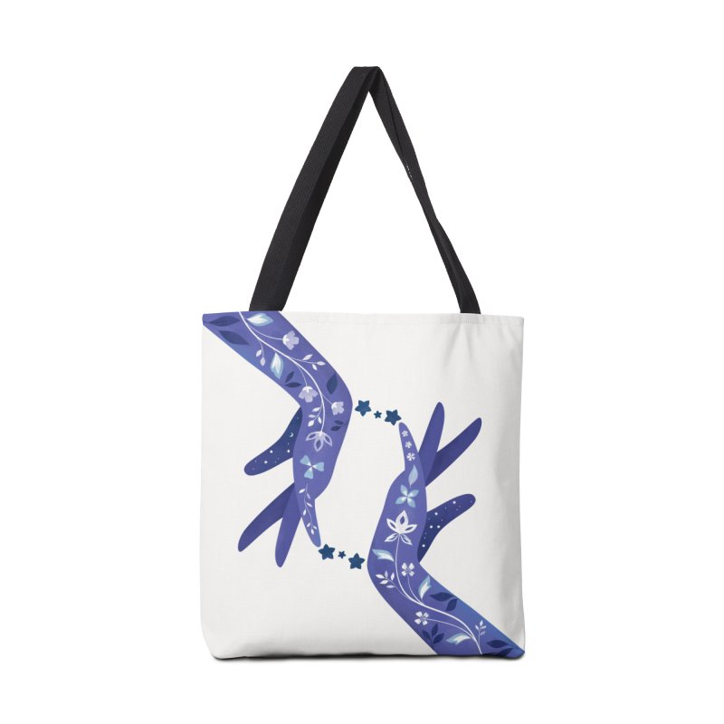Sapphire in Tote Bag by carlywatts's Shop