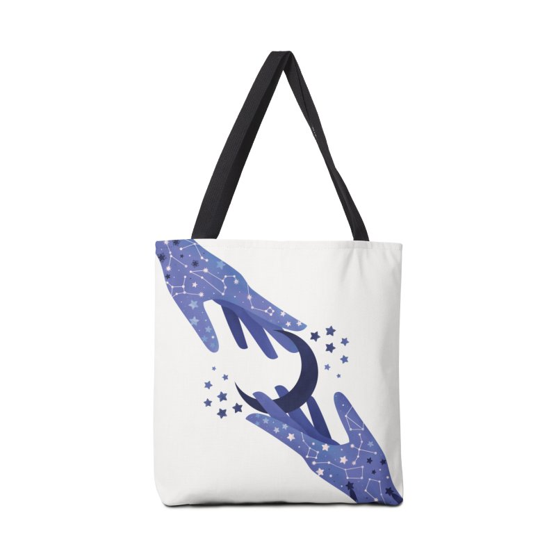 Blue Moon Accessories Tote Bag Bag by carlywatts's Shop