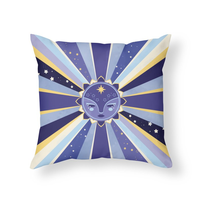 Moonshine Home Throw Pillow by carlywatts's Shop