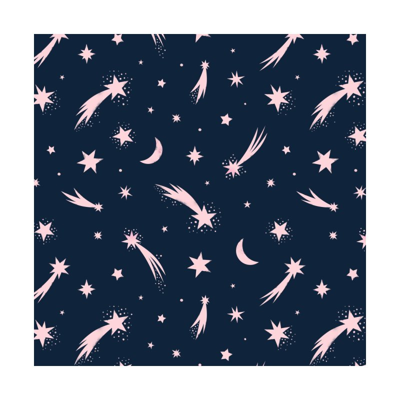 Mini Meteors Navy Accessories Zip Pouch by carlywatts's Shop