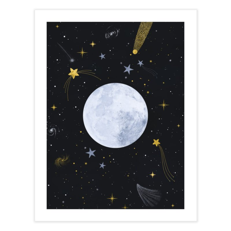 Magic Night Home Fine Art Print by carlywatts's Shop