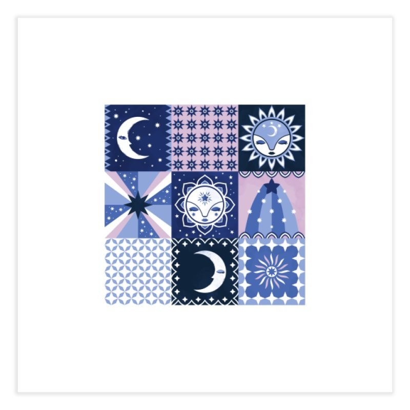 Little Luna Faces Home Fine Art Print by carlywatts's Shop