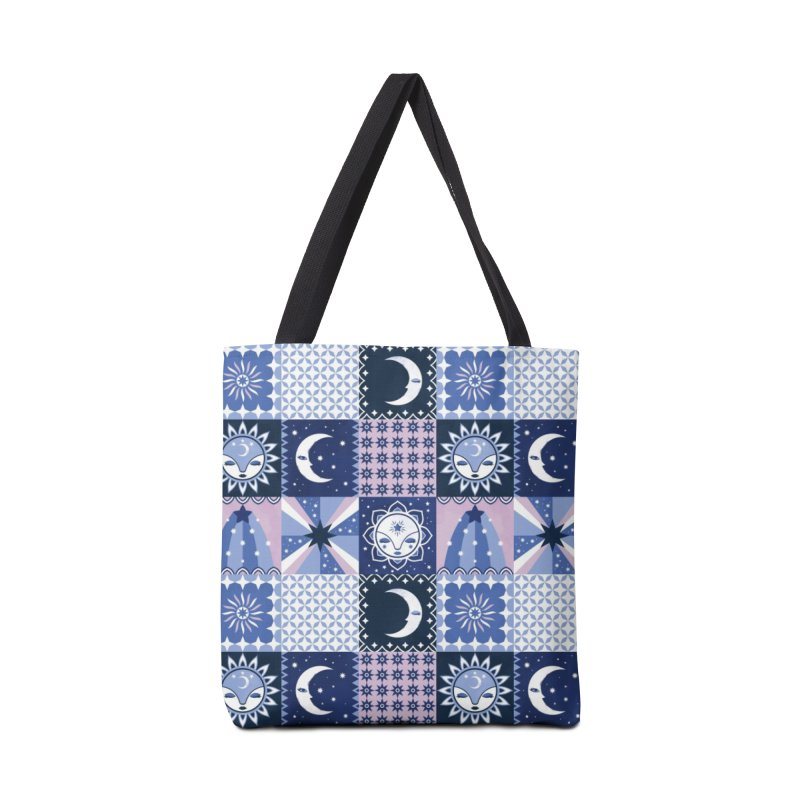 Little Luna Faces Accessories Tote Bag Bag by carlywatts's Shop