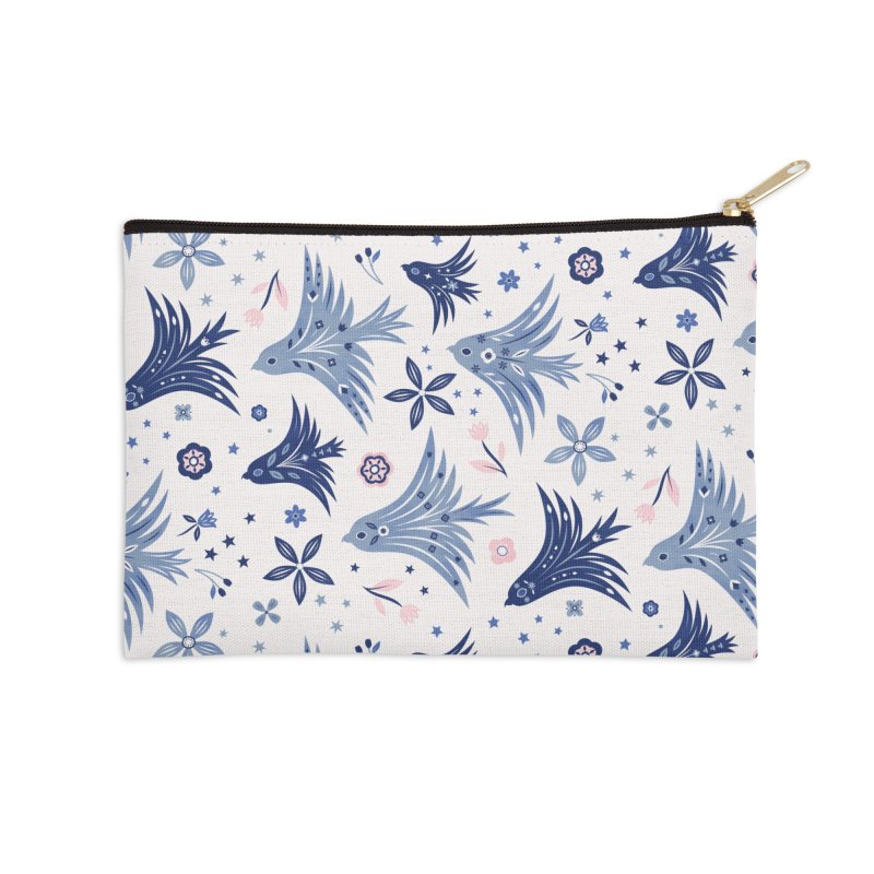 Spring Soarers Accessories Zip Pouch by carlywatts's Shop