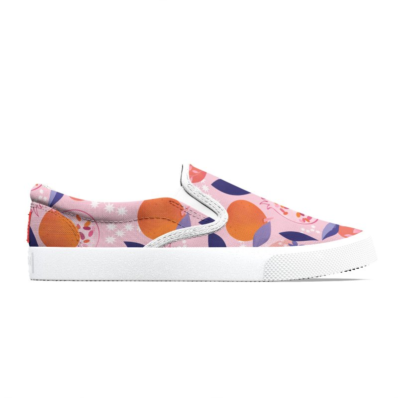 Pink Pomegranates Men's Shoes by carlywatts's Shop