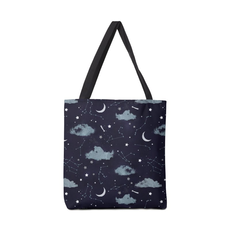 Silver Starlight Accessories Bag by carlywatts's Shop