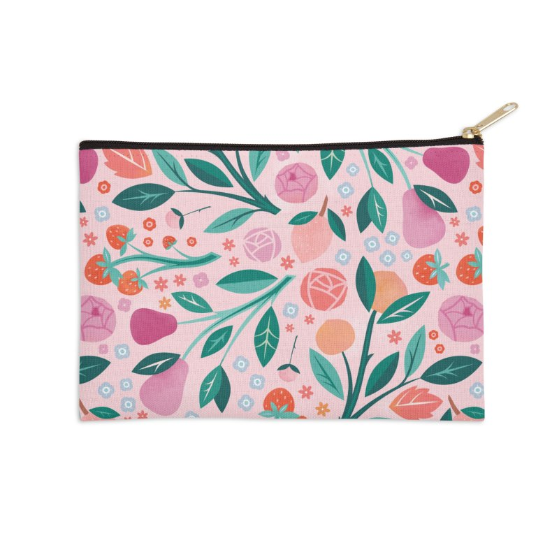 Garden Party Accessories Zip Pouch by carlywatts's Shop