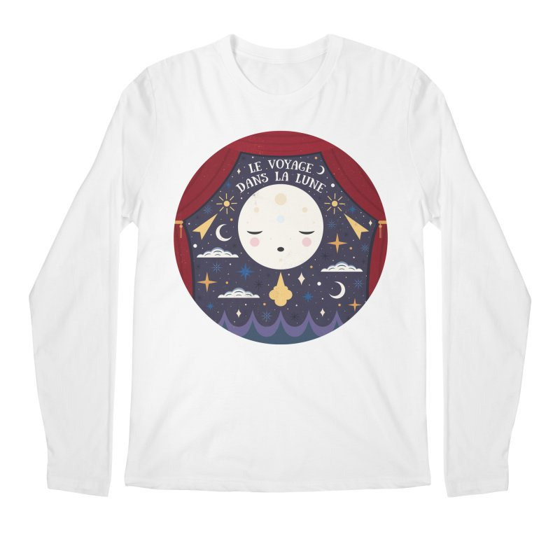 A Trip to the Moon  Men's Longsleeve T-Shirt by carlywatts's Shop