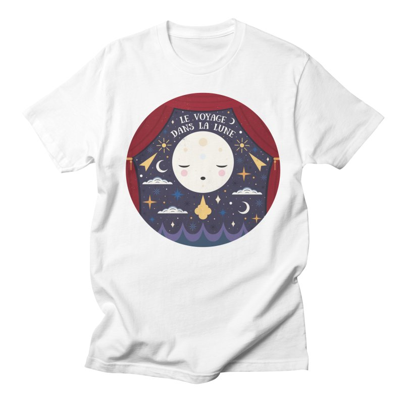 A Trip to the Moon  Women's Unisex T-Shirt by carlywatts's Shop