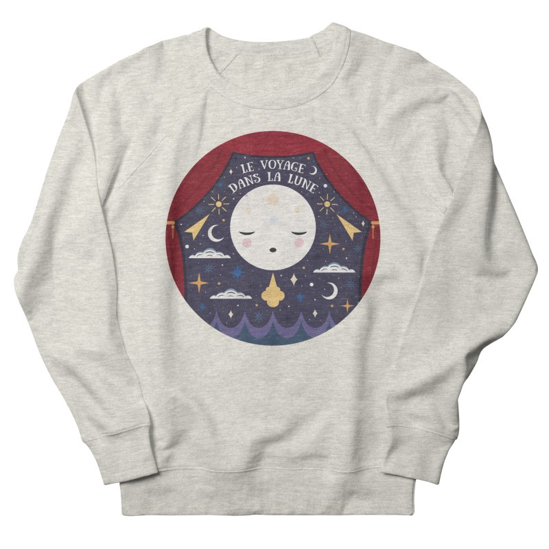 A Trip to the Moon  Men's Sweatshirt by carlywatts's Shop