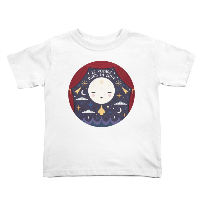 A Trip to the Moon  Kids Toddler T-Shirt by carlywatts's Shop