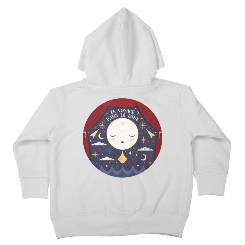 A Trip to the Moon  Kids Toddler Zip-Up Hoody by carlywatts's Shop