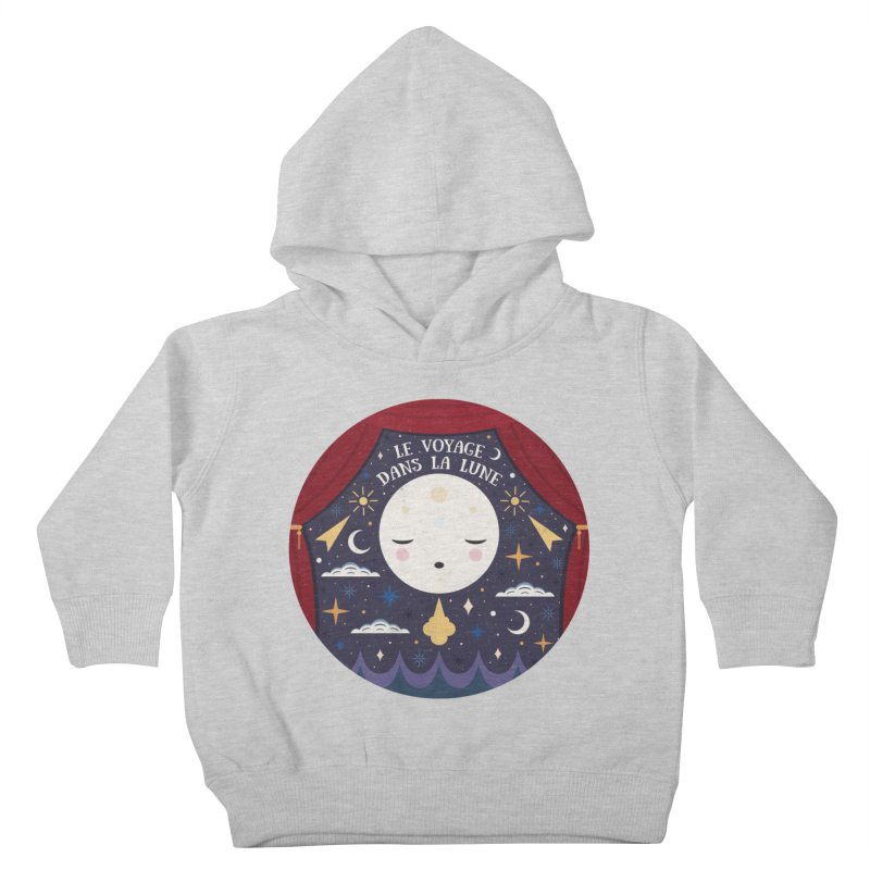 A Trip to the Moon  Kids Toddler Pullover Hoody by carlywatts's Shop