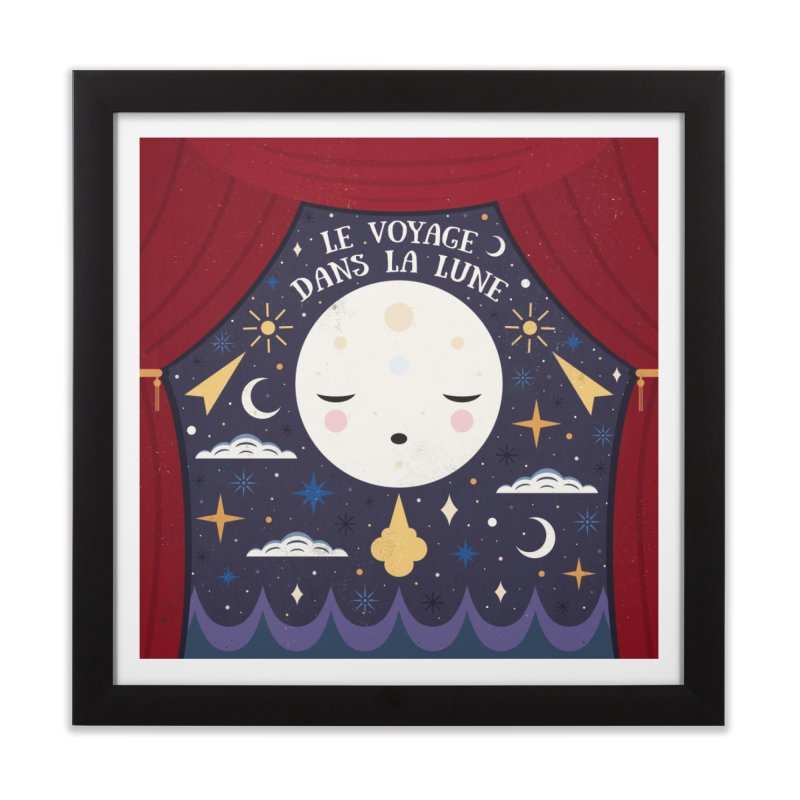 A Trip to the Moon  Home Framed Fine Art Print by carlywatts's Shop
