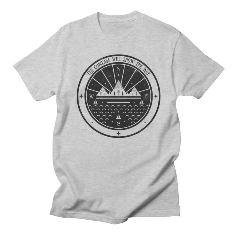 The Compass  Women's Unisex T-Shirt by carlywatts's Shop