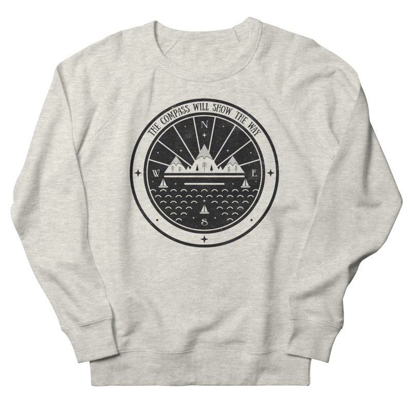 The Compass  Men's Sweatshirt by carlywatts's Shop