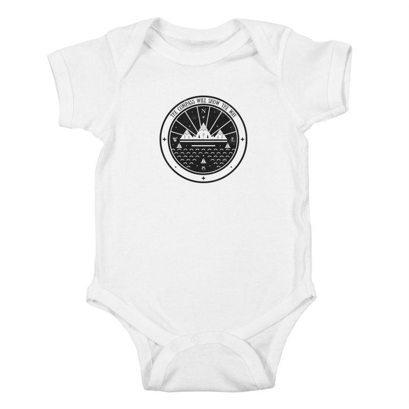The Compass  Kids Baby Bodysuit by carlywatts's Shop
