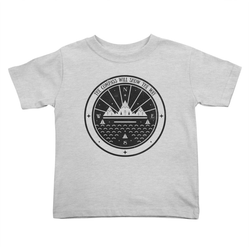 The Compass  Kids Toddler T-Shirt by carlywatts's Shop