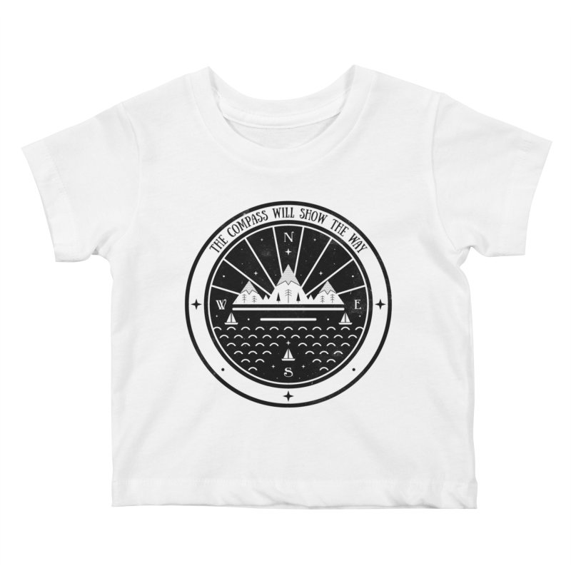 The Compass  Kids Baby T-Shirt by carlywatts's Shop