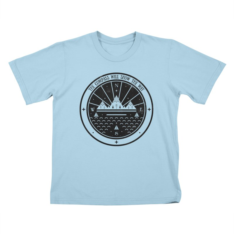 The Compass  Kids T-Shirt by carlywatts's Shop