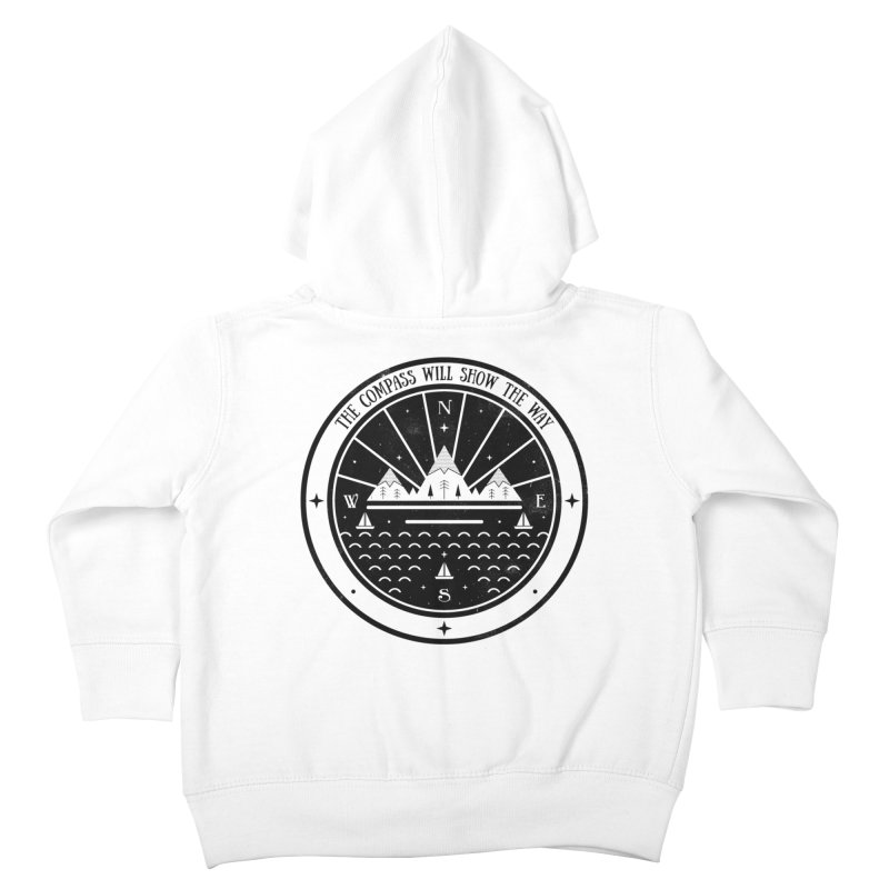 The Compass  Kids Toddler Zip-Up Hoody by carlywatts's Shop