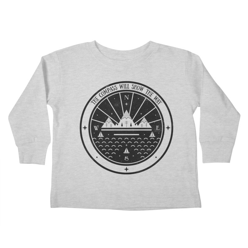 The Compass  Kids Toddler Longsleeve T-Shirt by carlywatts's Shop