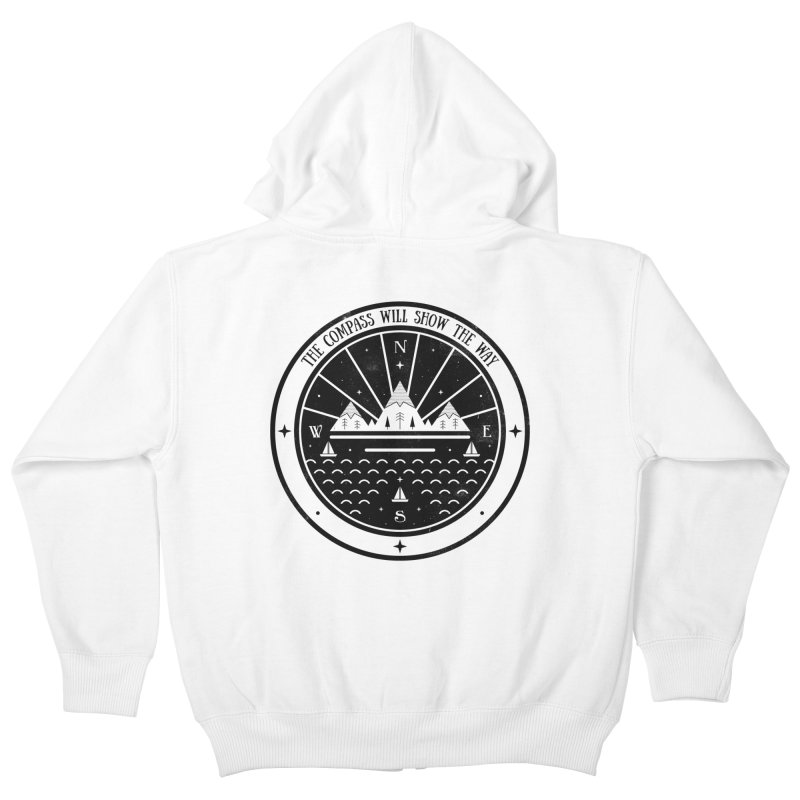 The Compass  Kids Zip-Up Hoody by carlywatts's Shop
