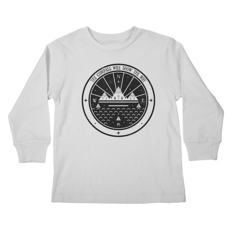 The Compass  Kids Longsleeve T-Shirt by carlywatts's Shop