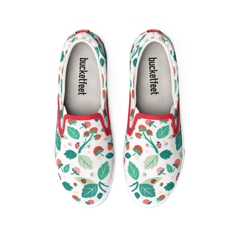 Strawberry Season Men's Shoes by carlywatts's Shop