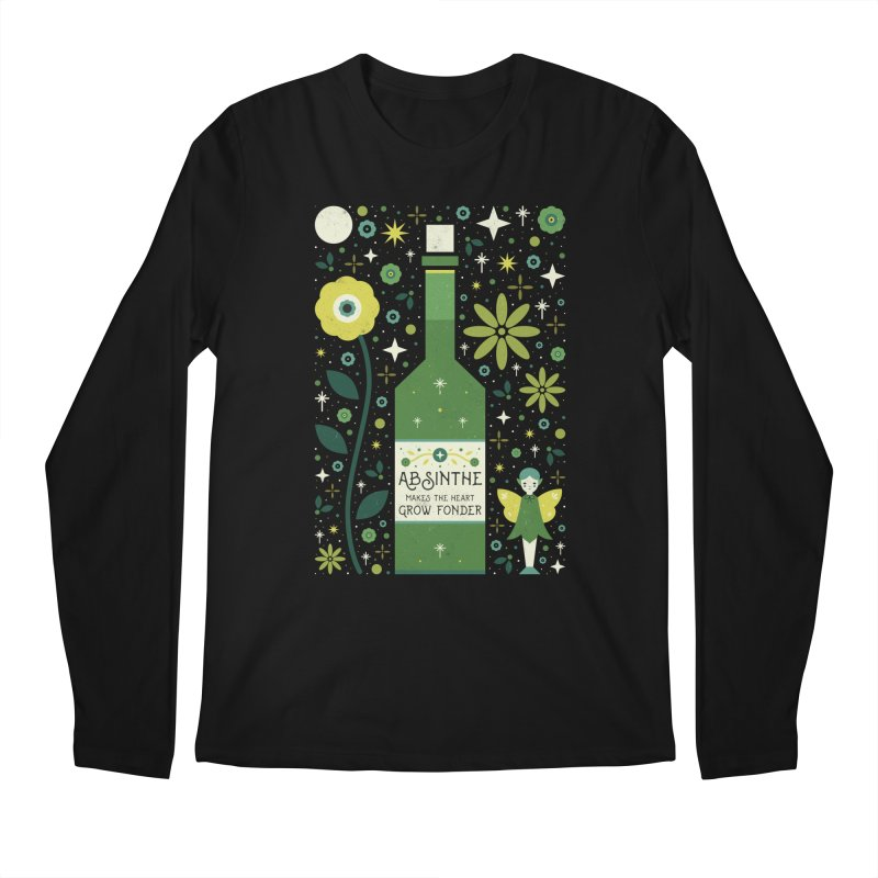 Absinthe  Men's Longsleeve T-Shirt by carlywatts's Shop