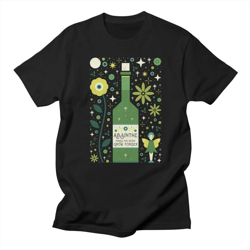 Absinthe  Women's Unisex T-Shirt by carlywatts's Shop
