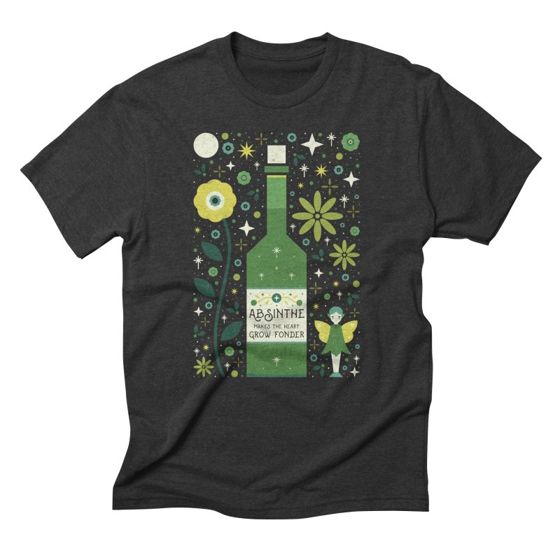 Absinthe  Men's Triblend T-shirt by carlywatts's Shop