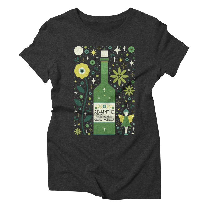 Absinthe  Women's Triblend T-Shirt by carlywatts's Shop