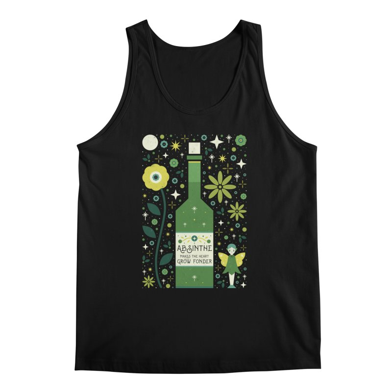 Absinthe  Men's Tank by carlywatts's Shop