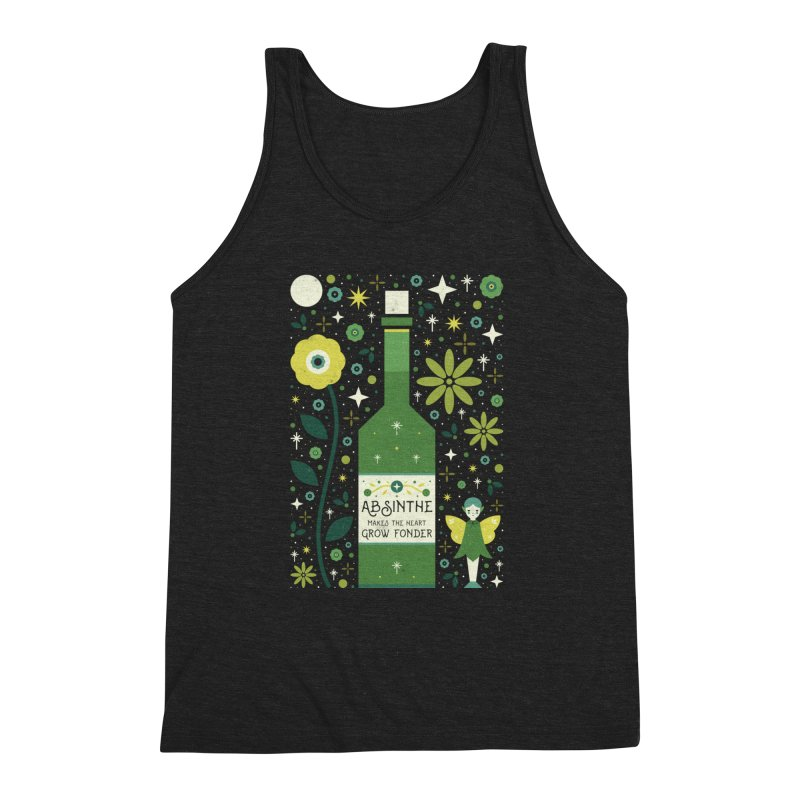 Absinthe  Men's Triblend Tank by carlywatts's Shop