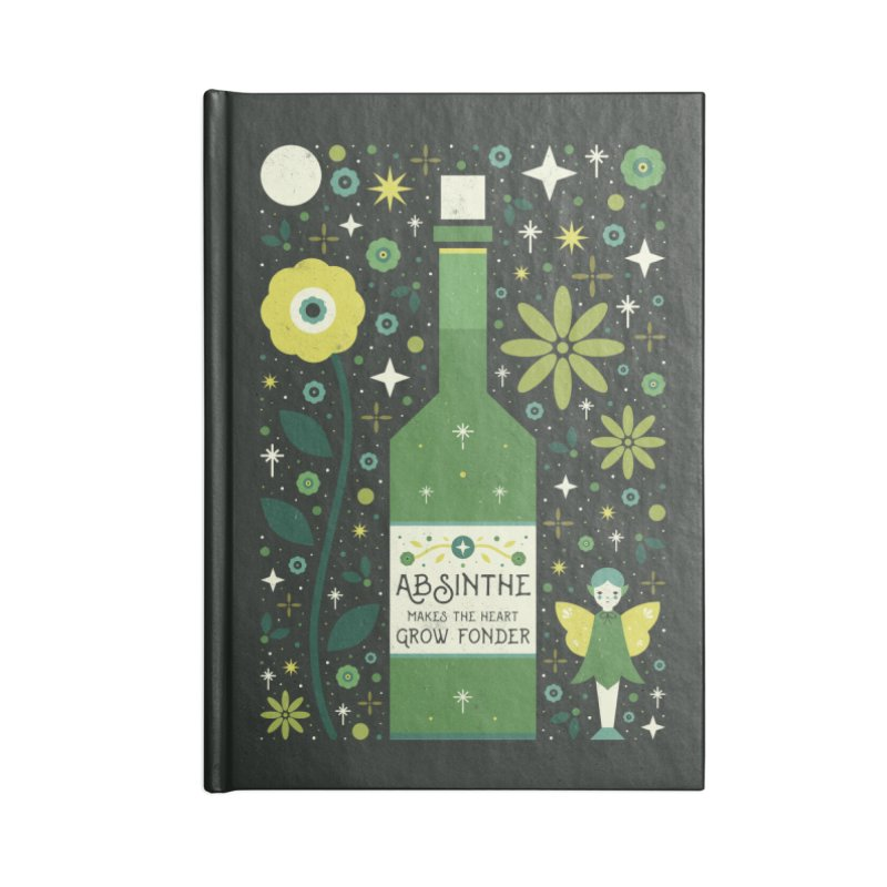 Absinthe  Accessories Notebook by carlywatts's Shop