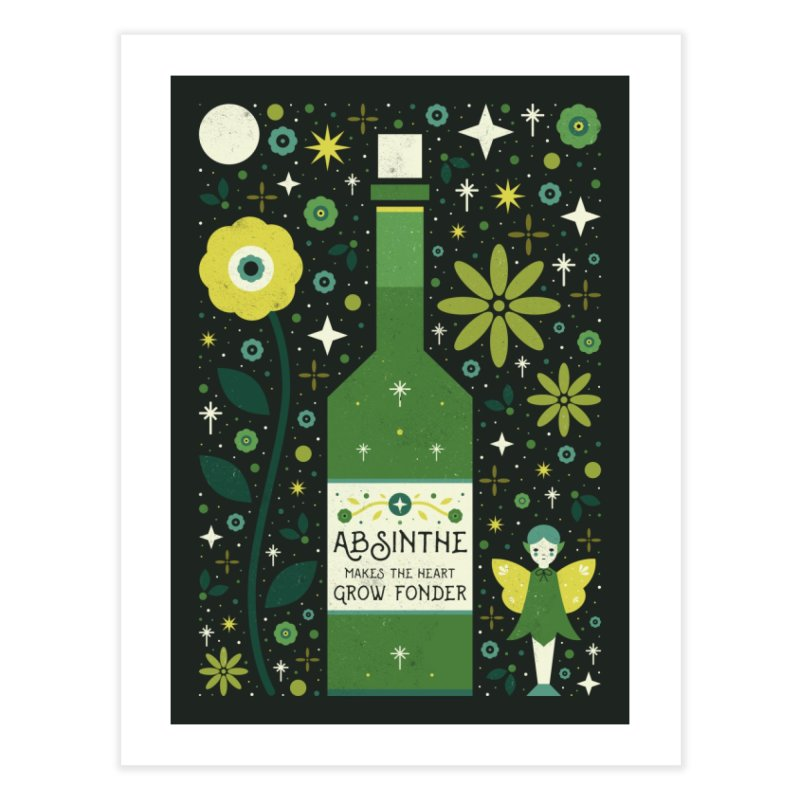 Absinthe  Home Fine Art Print by carlywatts's Shop