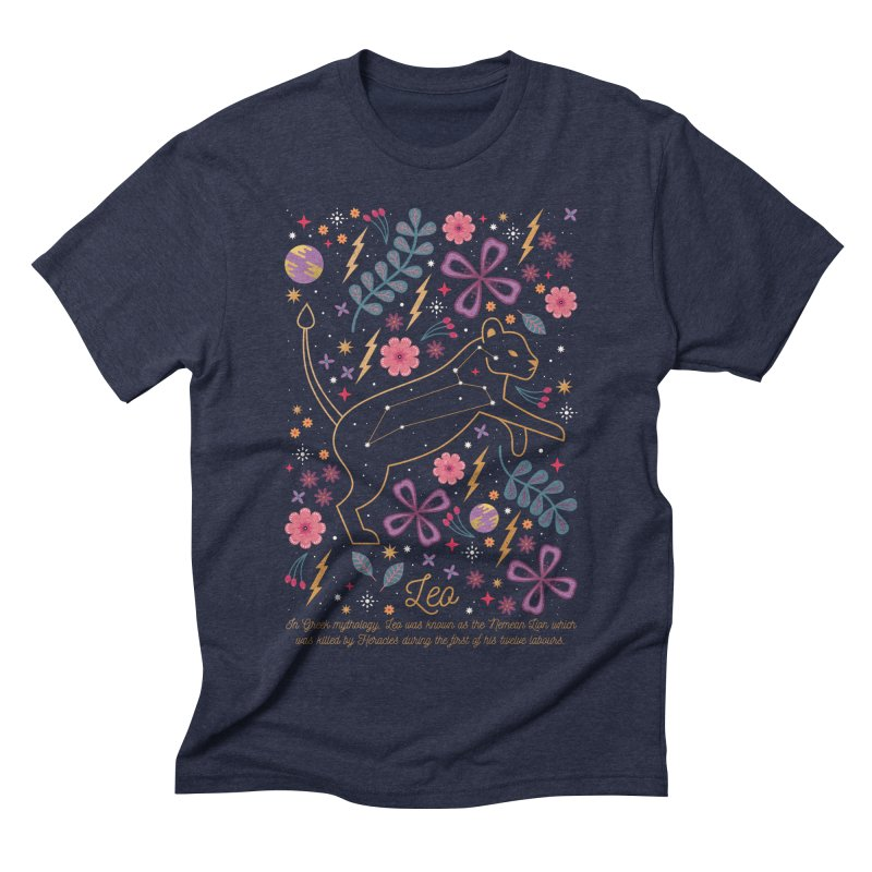 Leo Men's Triblend T-shirt by carlywatts's Shop