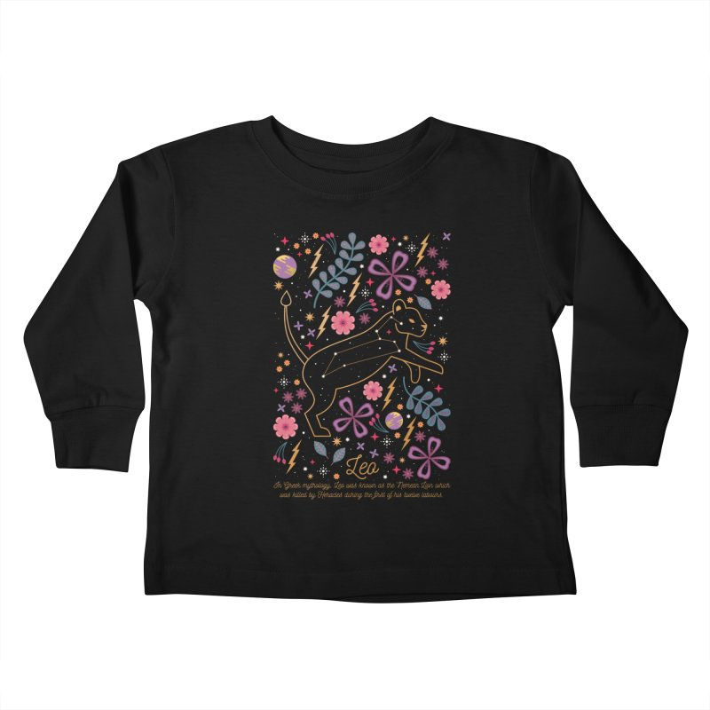 Leo Kids Toddler Longsleeve T-Shirt by carlywatts's Shop
